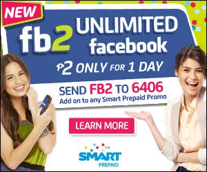 Unlimited Facebook Manila Philippines Smart WhenInManila