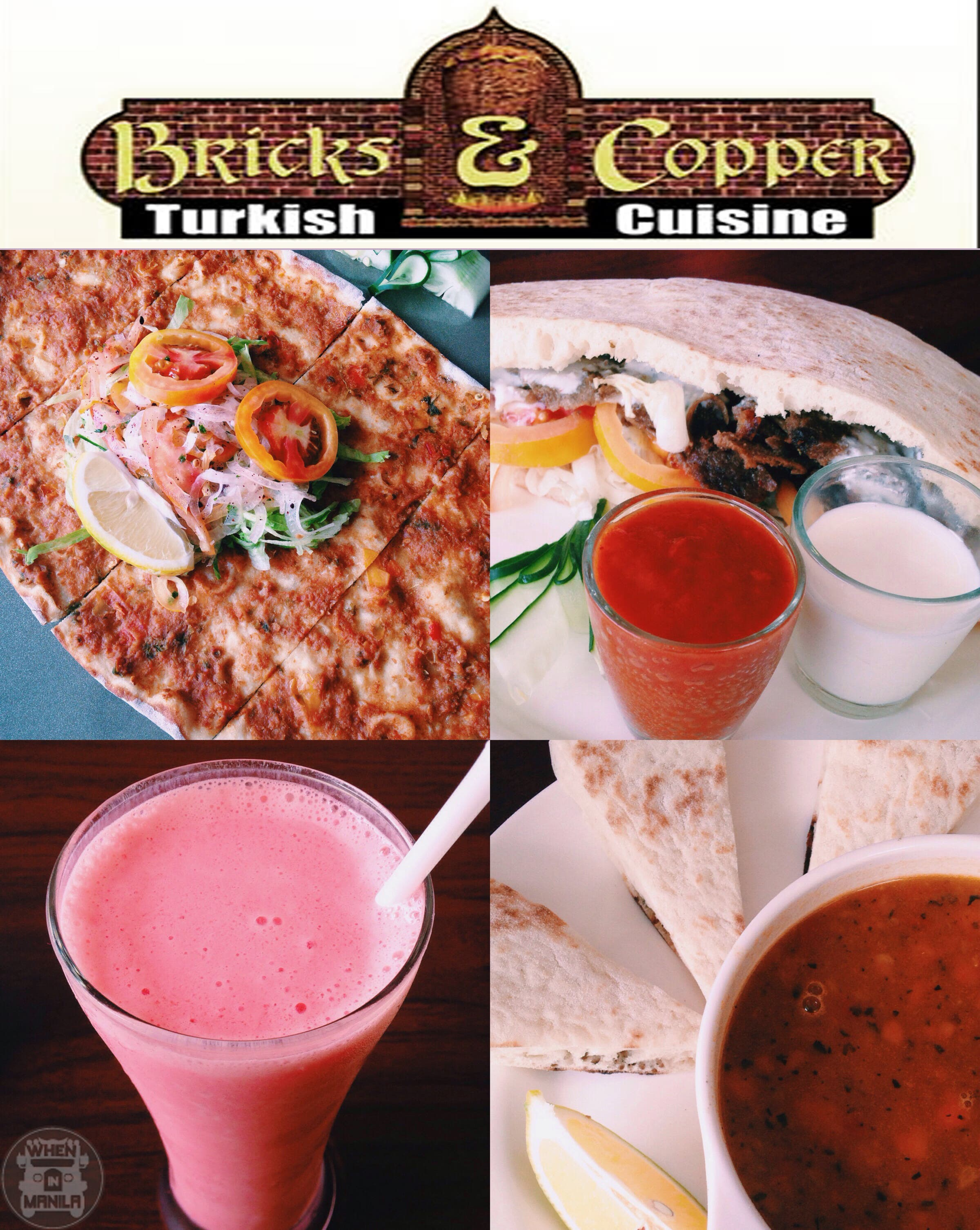 Bricks and Copper Turkish Food