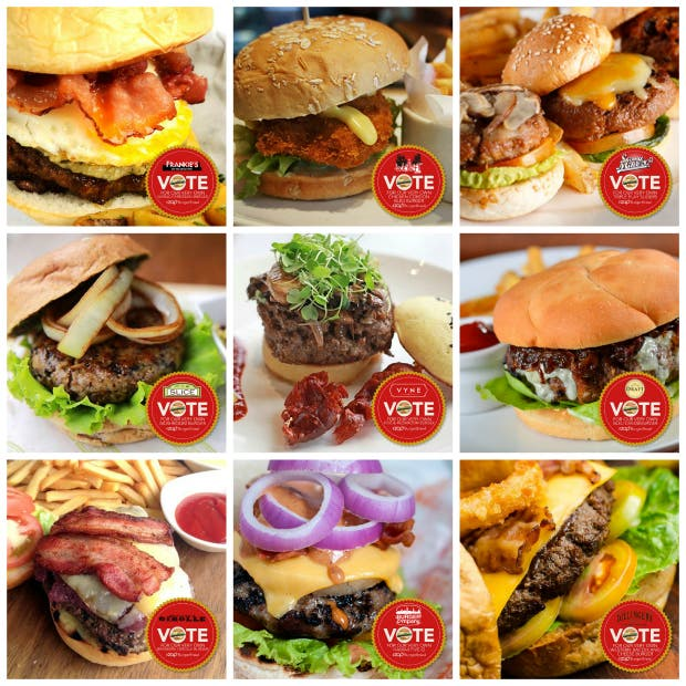 Top 18 Burgers in Manila that you MUST TRY