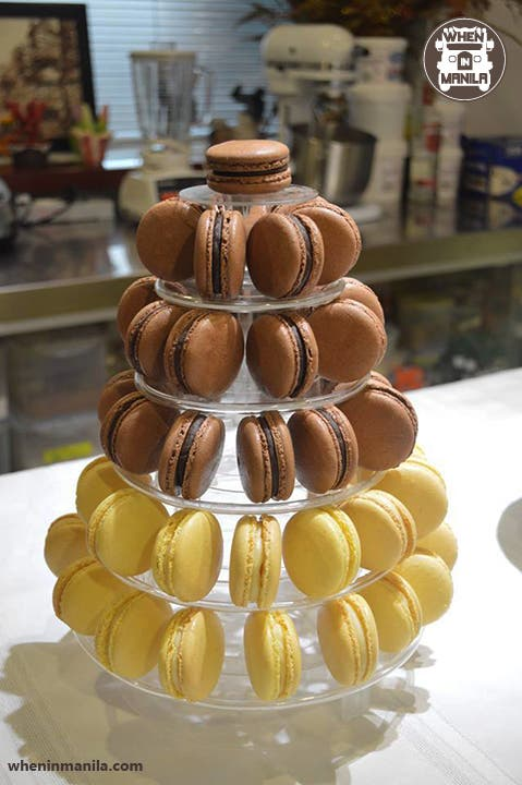 Sam's Tuileries Confections Happiness Macarons Cream Puffs