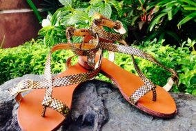 Sewn Sandals for Women