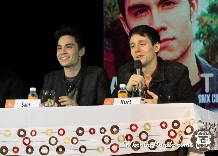 Sam Tsui and Kurt Hugo Schneider Live in Manila
