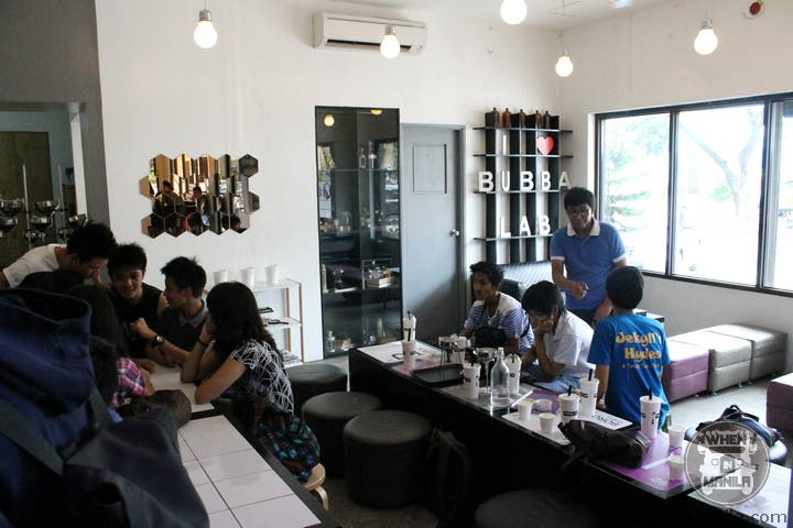 The Chemistry I 'Lab' Only at Bubba Lab Cafe 18