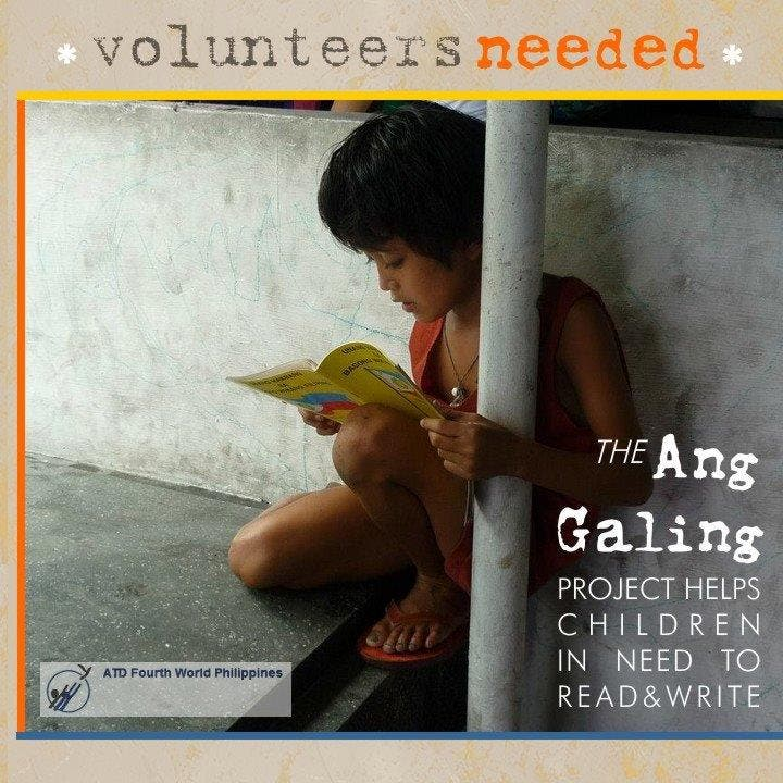 Ang Galing! Volunteer work by ATD Philippines, NGO