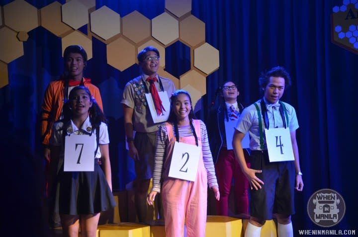 Ateneo Blue Rep's Spelling Bee Musical