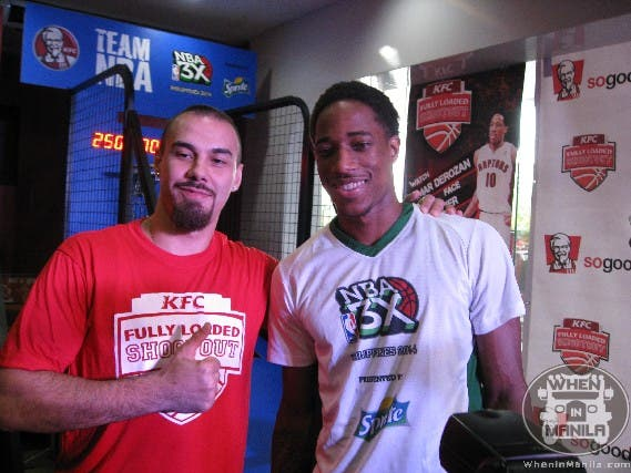 DeMar DeRozan vs Doug Kramer in Manila