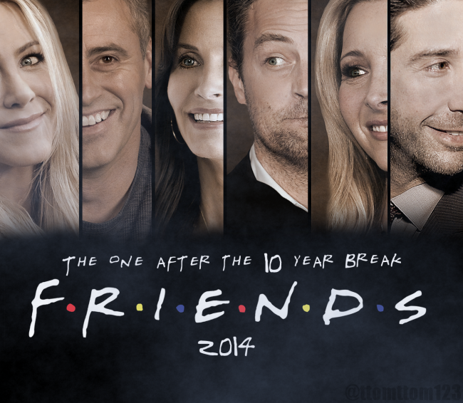 "10 Reasons Why You Should Watch ""Friends"""