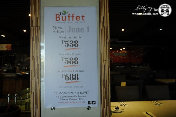 The Buffet in QC
