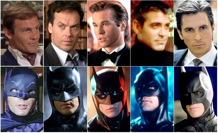 Batman Through the Years - Happy 75th Anniversary, Bruce Wayne!