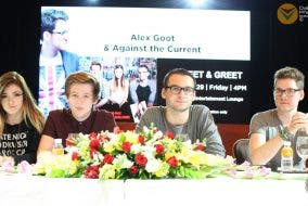 Alex Goot and ATC Live In Manila Press Conference