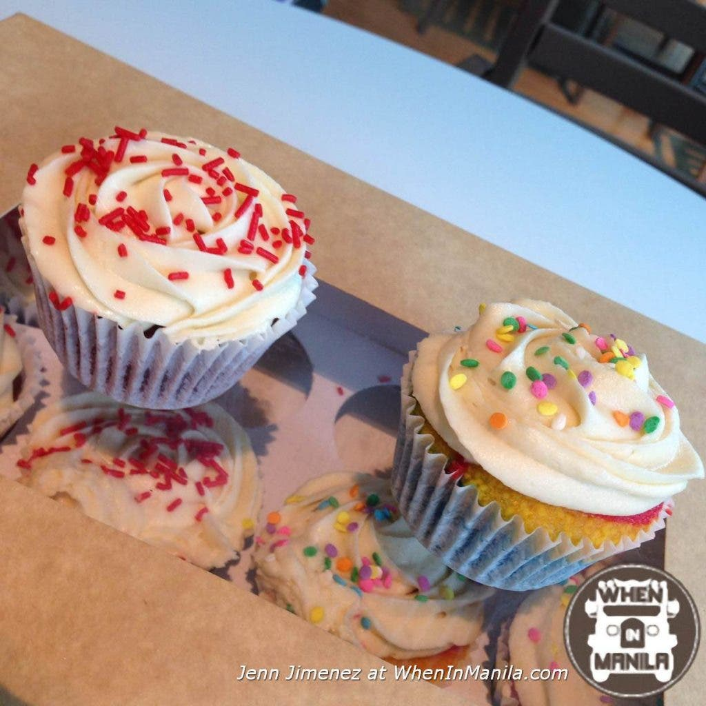 """""""It's all About Sweets"""" Red Velvet & Rainbow Cupcake"""
