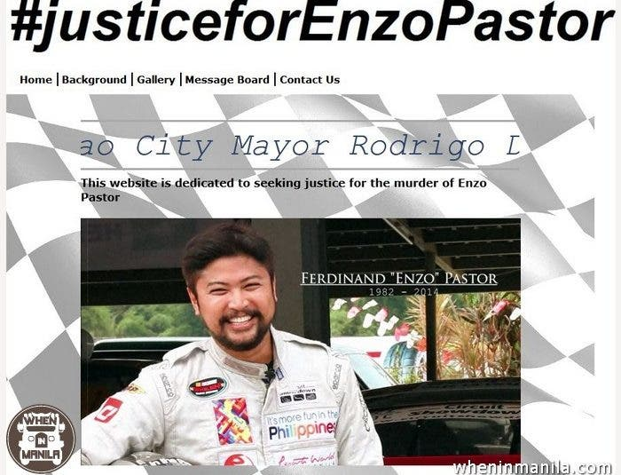 Justice-for-enzo-pastor-website