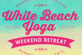 Yoga Weekend Retreat at White Beach, Cebu on August 29-31,2014