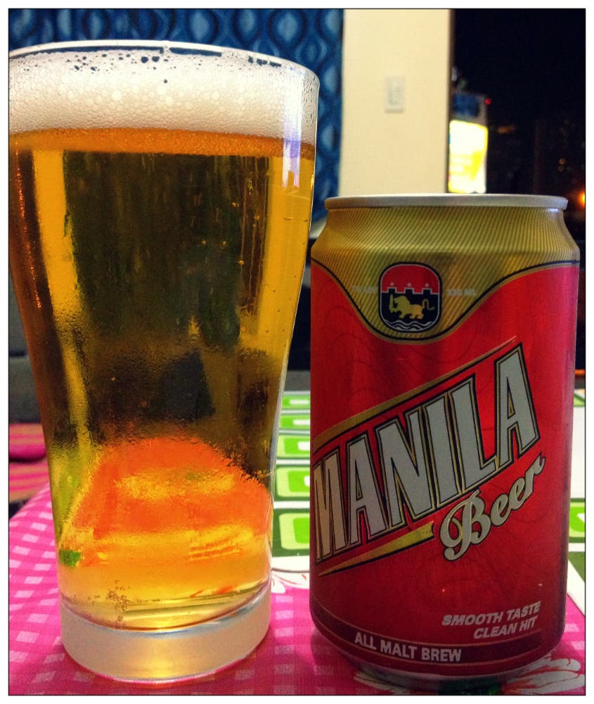 Strong Beers in PH - Manila Beer