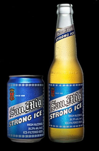 Strong Beers in PH - San Miguel Strong Ice