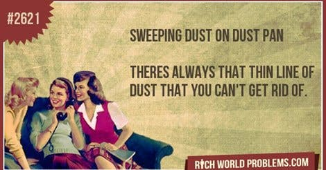 sweeping dust dyson vacuum