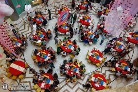 Lucky Chinatown Mall Mid-Autumn Festival Dice Game