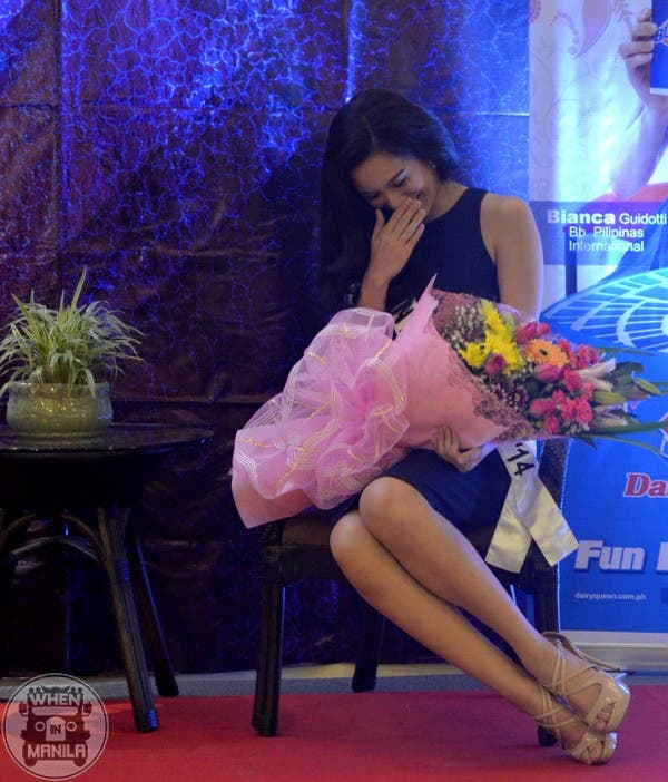 bb. pilipinas, miss international philippines, bianca guidotti, bianca guidotti ateneo de manila, back to back crown for miss internation 2014 for philippines, philippines back to back crown miss international, when in manila bb pilipinas 2014