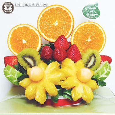 fruits, fruits in bloom, healthy, gifts