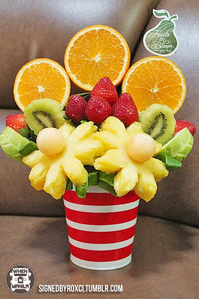 fruits in bloom, healthy, fruits, gifts