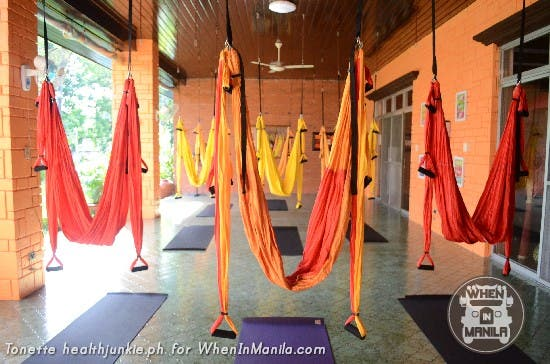 Full Body Workout with Aerial Swing Yoga Fitness1