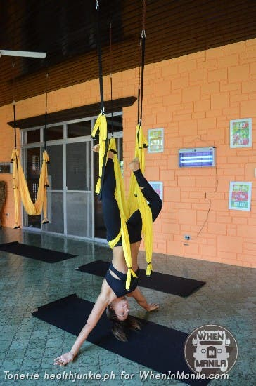 Full Body Workout with Aerial Swing Yoga Fitness10