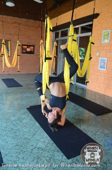 Full Body Workout with Aerial Swing Yoga Fitness12