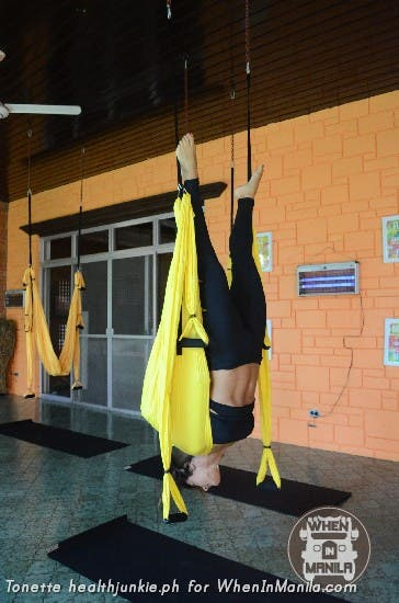 Full Body Workout with Aerial Swing Yoga Fitness16
