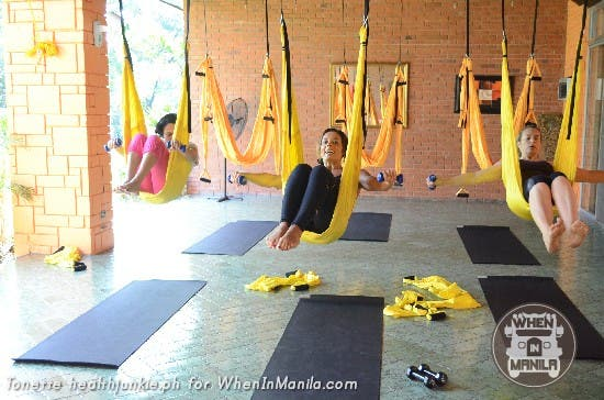 Full Body Workout with Aerial Swing Yoga Fitness18