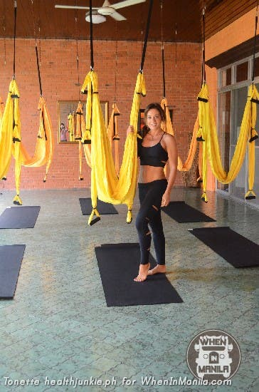 Full Body Workout with Aerial Swing Yoga Fitness2