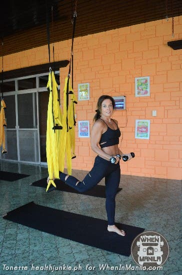 Full Body Workout with Aerial Swing Yoga Fitness6
