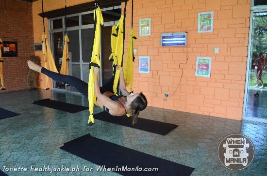Full Body Workout with Aerial Swing Yoga Fitness7
