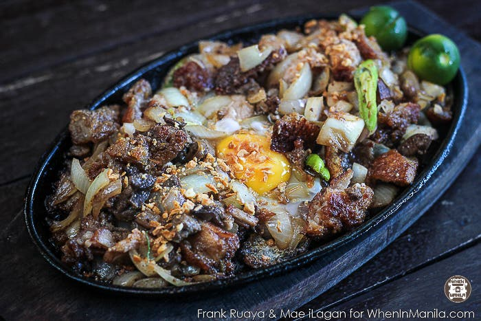 For the BEST BAGUIO SISIG, visit Rancho Norte
