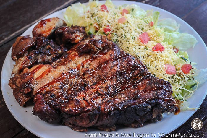 For really good Baby Back Ribs, try the one at Canto!