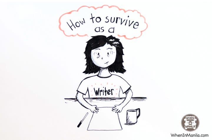 How to Survive as a Writer: 5 Top Tips from Writer's Block Philippines