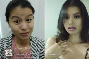 Makeup Transformation Acie Fores