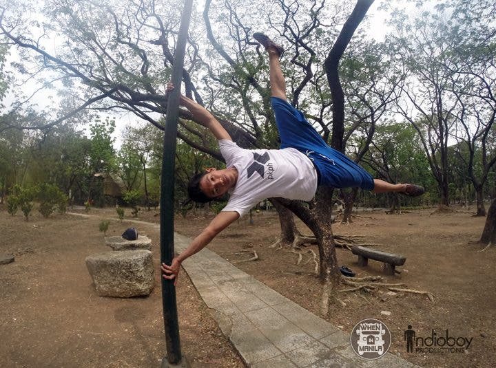 Parkour Philippines Bansay