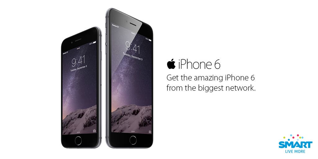 Pre-Order Your iPhone 6 and iPhone 6 Plus at Smart Now
