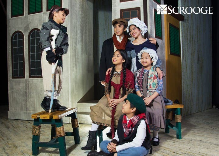 Scrooge the Musical in Manila