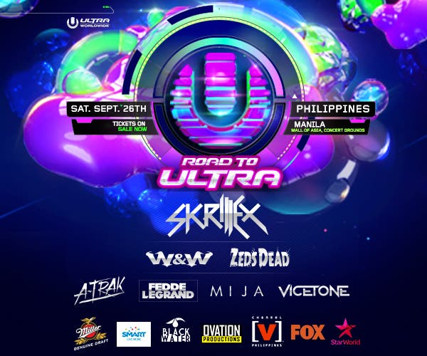 Ultra Manila EDM Electronic Music Fest Skrillex Philippines PH WhenInManila 300x250