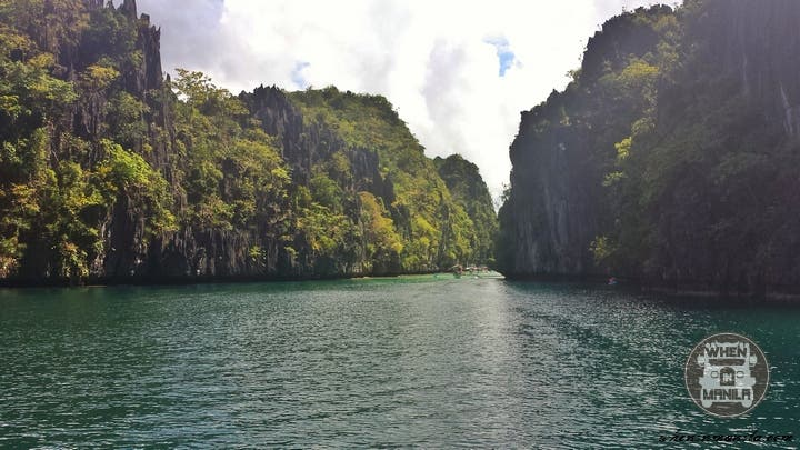 El Nido Palawan The Big Lagoon. Our first stop for Tour A