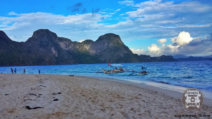 El Nido Palawan Helicopter Island. last stop for Tour C. Good area for snorkeling