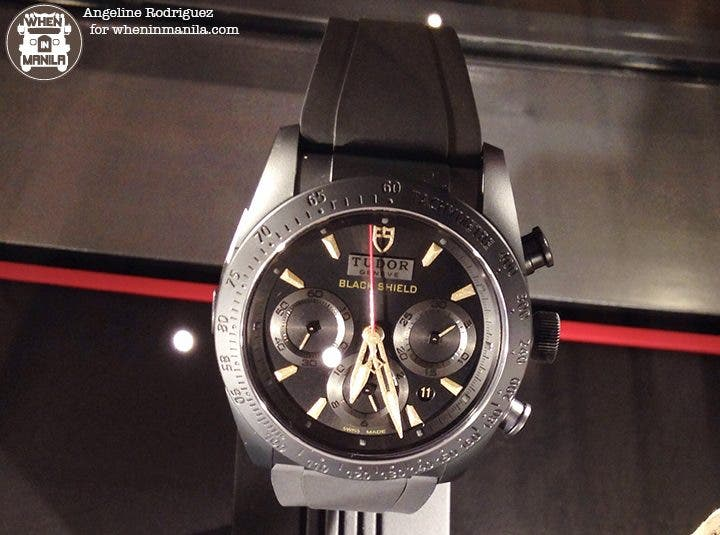Tudor Fastrider Black Shield Watch