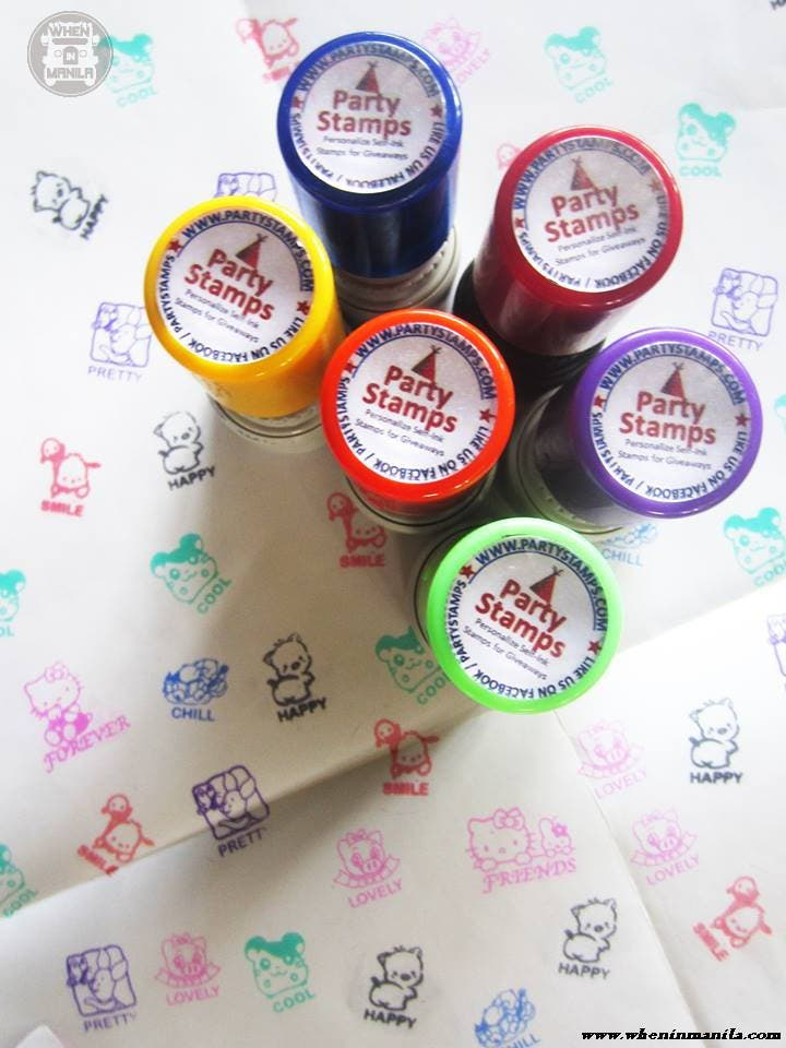 Party Stamps Personalized Stamps