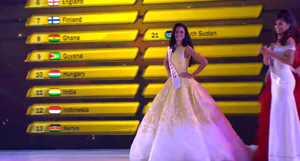 Philippines' Bet Valerie Weigmann Makes it to Top 25 of Miss World 2