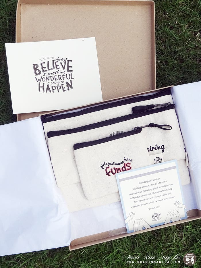 The Happy Project Pouches 3