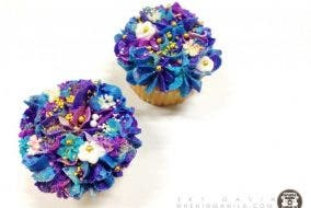 Indulge in beautiful floral cupcakes with Krit and Kaye