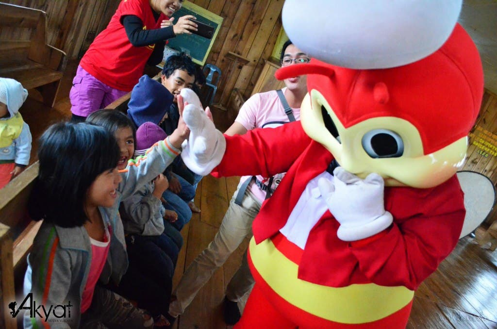 Mountain Tribe Meets Jollibee for the First Time