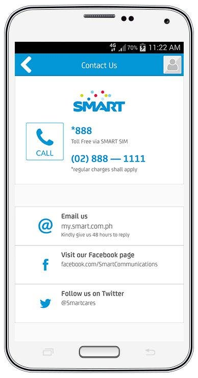7 things you can do Smart myPostpaid app 3