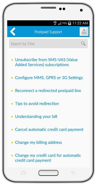 7 things you can do Smart myPostpaid app 5